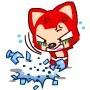 红狸摔瓶图